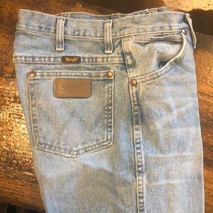 Wrangler Jeans destructed